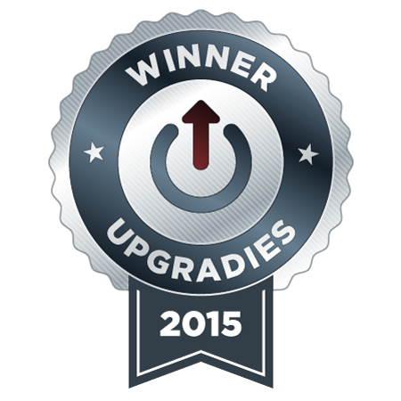 Upgradies 2015 Winner Badge
